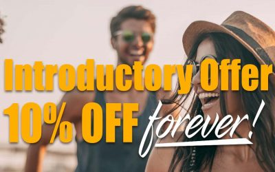 10% OFF Introductory Offer