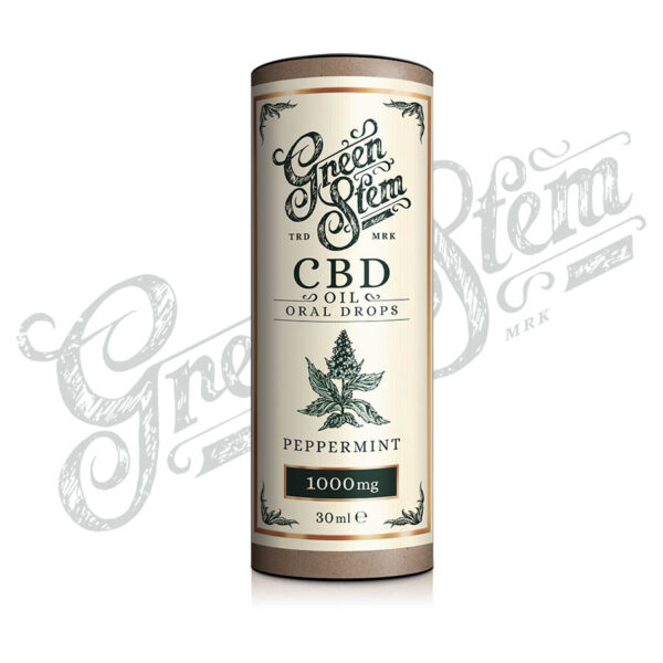 Green-Stem CBD Oil Peppermint flavour